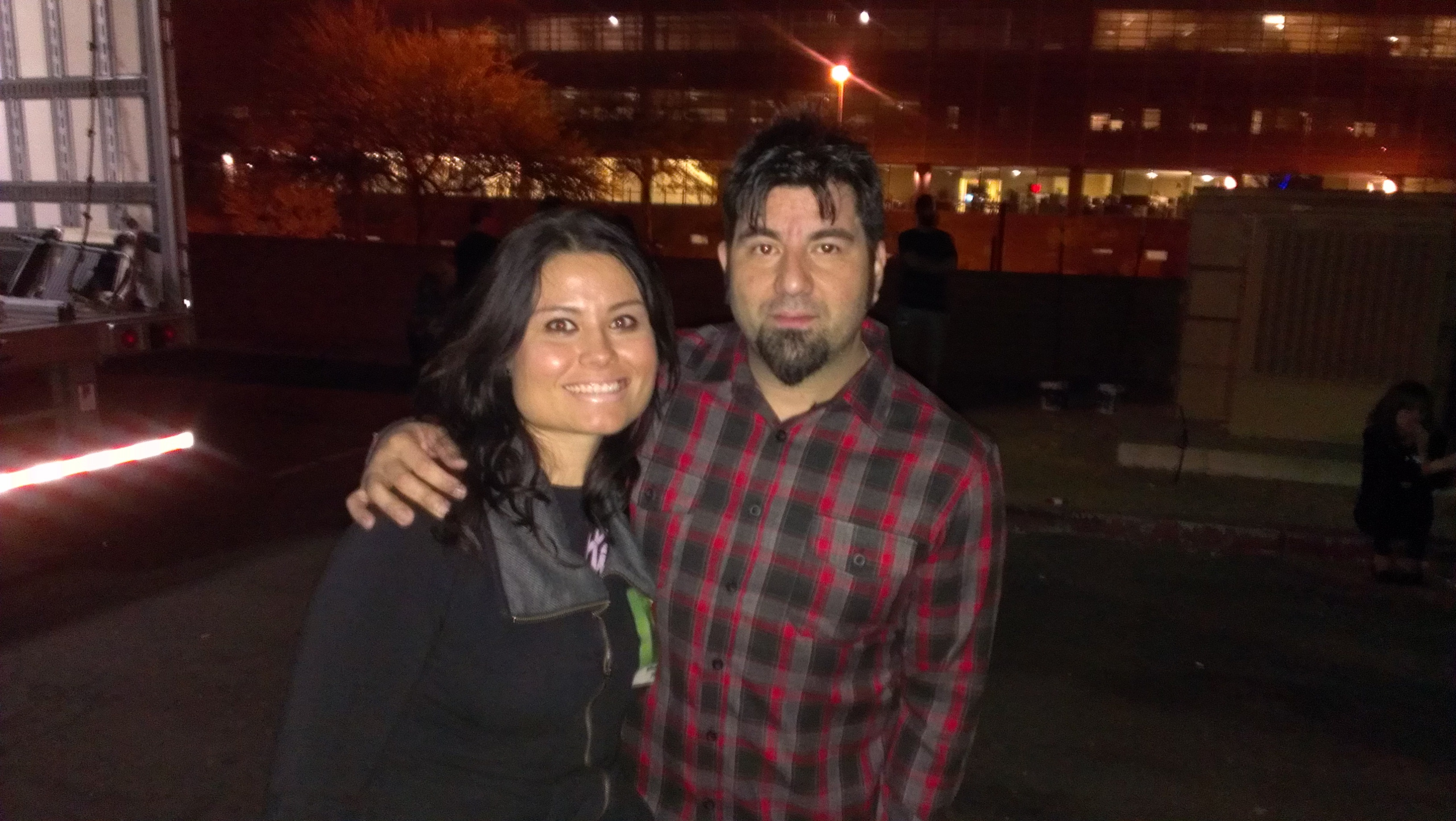 Guess Who Met Deftones? This Girl!