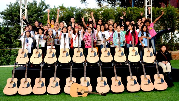 Changing Kids' Lives One Guitar at a Time