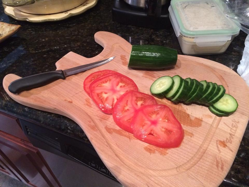 How Guitarists Operate in the Kitchen