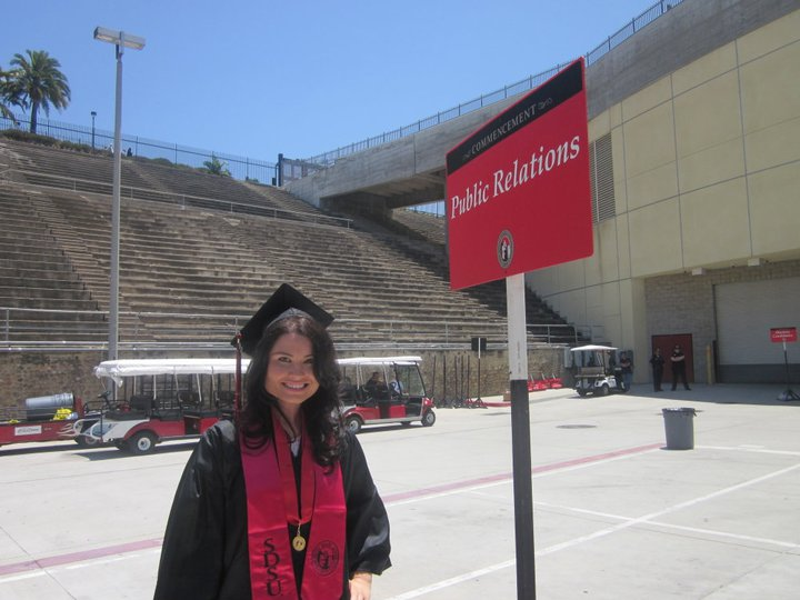 Graduation day in May of 2011. Major milestone!