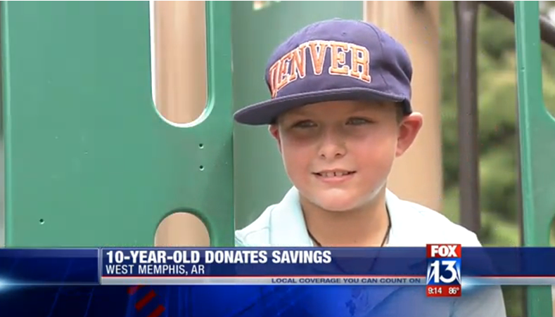 Boy Saving Money for Guitar Donates Cash to Stranger, Gets Surprise of a Lifetime